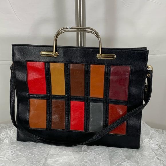 Handbags - Vintage leather Florentino handbag. FANTASTIC!